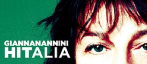 La copertina di Hitalia album di Gianna Nannini