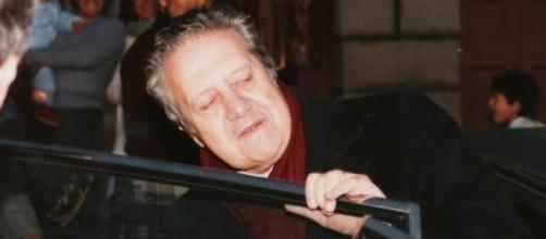 Mário Soares durante uma campanha eleitoral