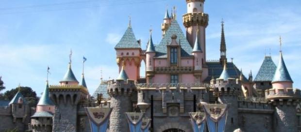Castelo da Bela Adormecida na Disneyland