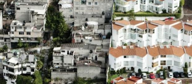En España aumenta la brecha entre ricos y pobres.