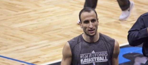 Imagen de Manu Ginobili jugador de los Spurs