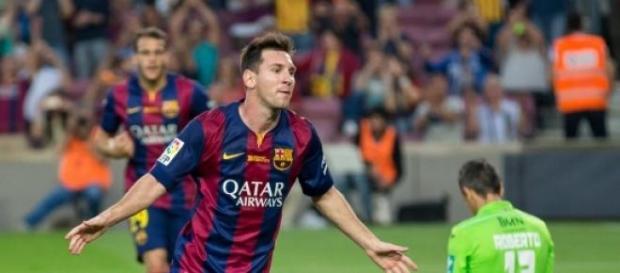 Lionel Messi, avançado do Barcelona