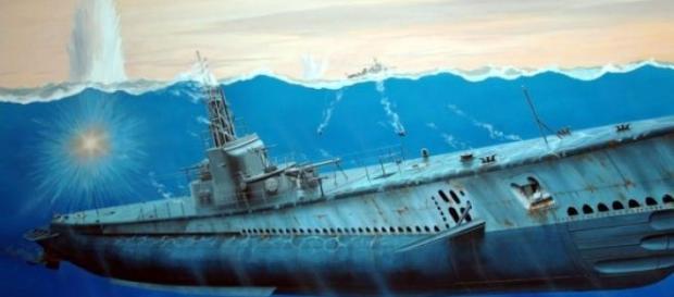 Uno de tantos submarinos