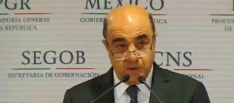 Jesús Murillo Karam, titular de la PGR