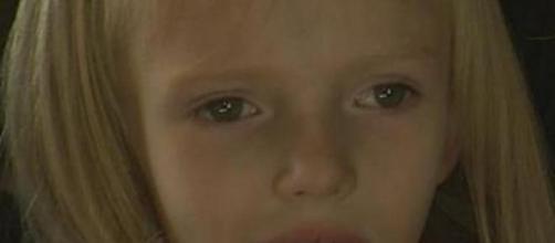 Addie Fausett, de 6 anos, tem uma doença terminal