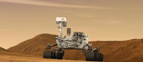 """El robot """"Curiosity"""" en acción"""