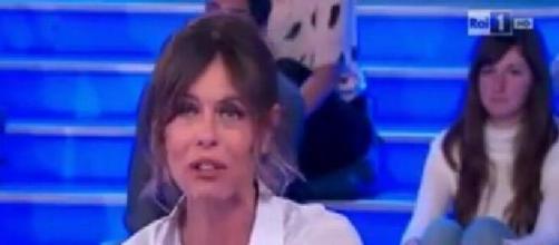 Lite Paola Perego-Nina Moric a Domenica In