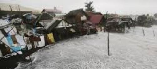 Paso del tifón Hagupit por Filipinas