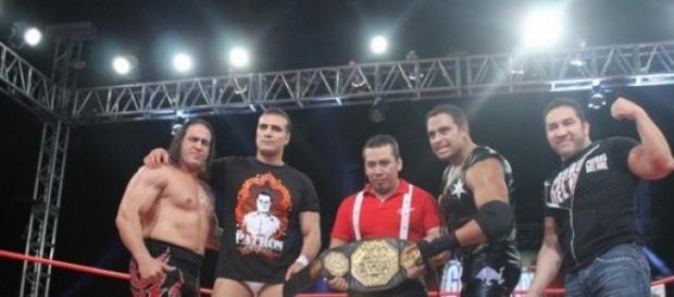 Alberto del Río nuevo Megacampeón AAA.