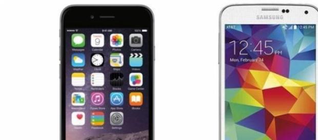 Dos de los mejores Smartphones de la actualidad.