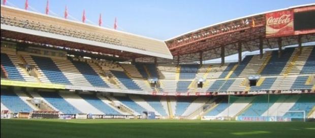 Estadio de Riazor, donde jugaron contra el Málaga
