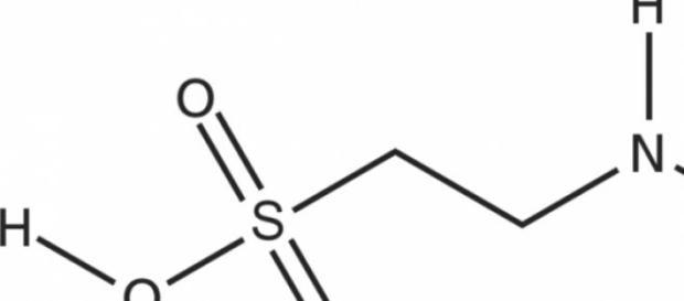 Representación molecular de la Taurina