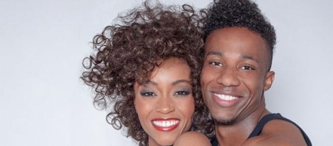 Los actores que dan vida a Whitney y Bobby Brown