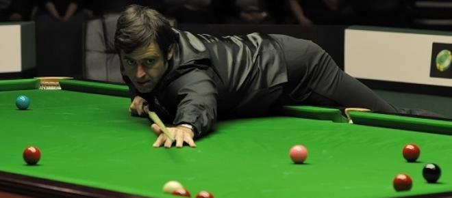 Snooker champion Ronnies O'Sullivan