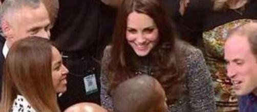 Kate Middleton e Beyoncé alla partita di basket
