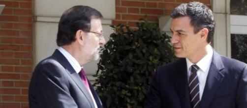 Pedro Sánchez reprocha a Rajoy