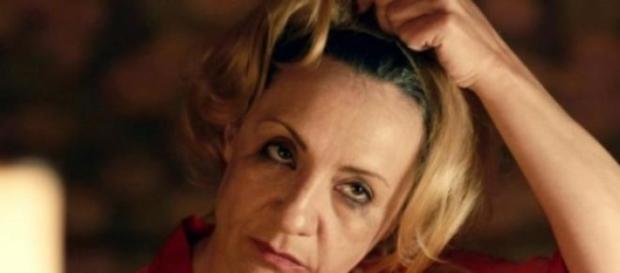"""Blanca Portllo como la bruja de """"Hansel y Gretel"""""""