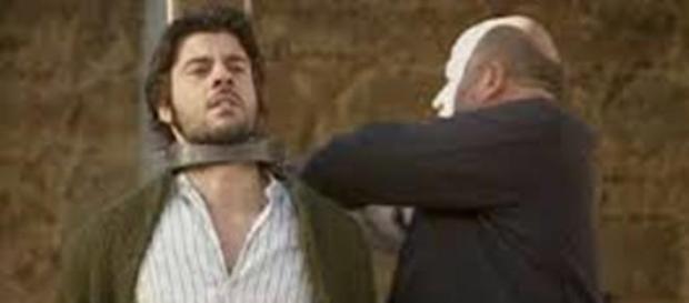Gonzalo condannato viene salvato da Maria.