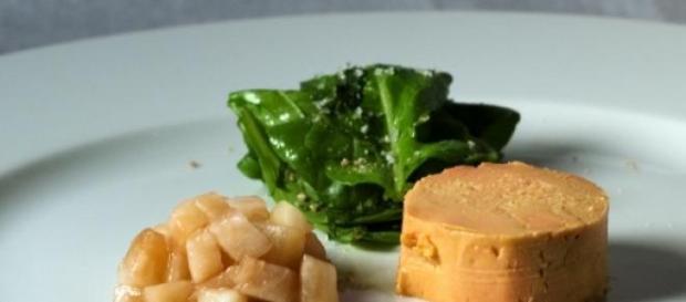 Le foie gras: un délice bien français.