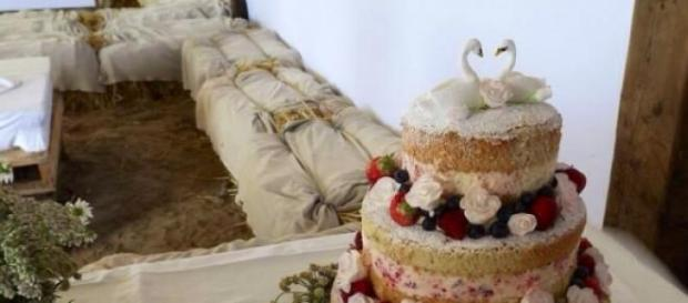 Os naked cakes para casamentos no verão