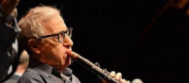 Woody Allen con su clarinete