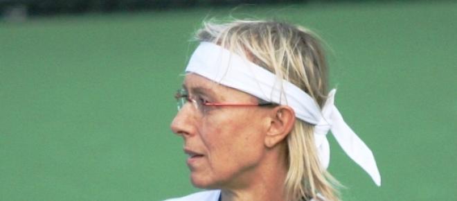 Navratilova venceu 59 títulos do Grand Slam