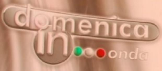 Il logo di Domenica In in onda su Rai Uno