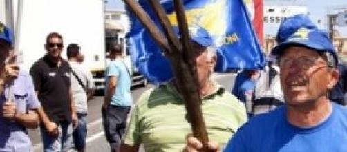 Nuova protesta dei Forconi