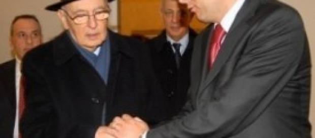 Governo, Renzi e Napolitano