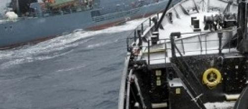 Navi giapponesi attaccano la Sea Shepherd