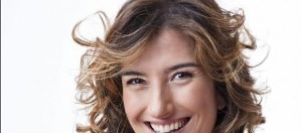 La conduttrice Giovanna Nina Palmieri