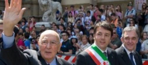 Amnistia e indulto, Renzi e Napolitano