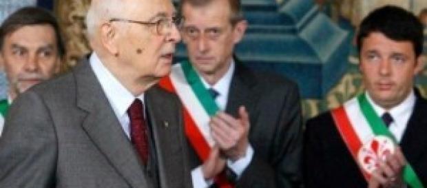 Consultazioni Napolitano: nuovo Governo Renzi