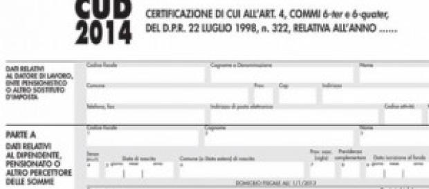 Modello CUD 2014: scadenza consegna