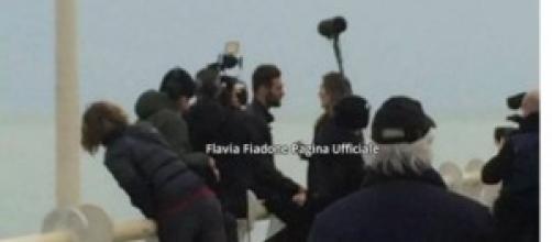 Flavia Fiadone e Tommaso Scala a Forte Dei Marmi