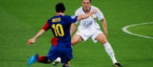 Leo Messi in Champions League qualche anno fa