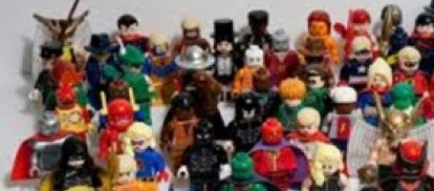 The Lego Movie, personaggi Lego
