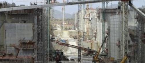 I lavori di ampliamento del Canale di Panama