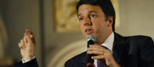 Il Premier incaricato Matteo Renzi
