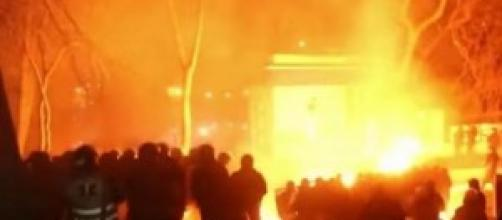 Protesta ucraina, scontri a Kiev