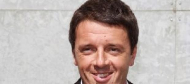 Il leader del PD Matteo Renzi