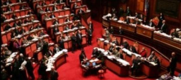 Intenzioni di voto SWG per PD, M5S, FI e altri