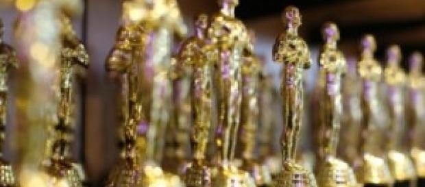 Statuette degli Oscar, che riceveranno i vincitori