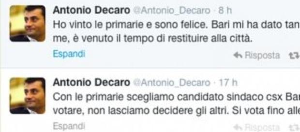 Il tweed di felicità di Antonio Decaro