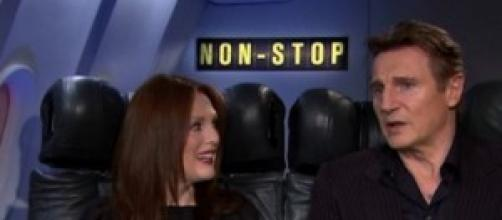 Julianne Moore e Liam Neeson