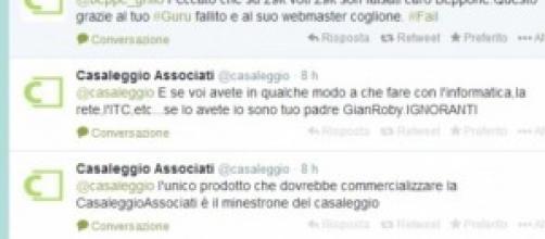 Account Twitter Casaleggio Associati violato