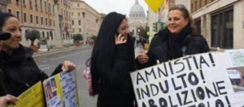 Indulto e amnistia, sciopero della fame