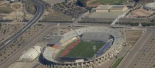Lo stadio Sant'Elia di Cagliari