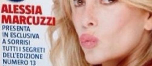 Alessia Marcuzzi pronta per il Grande Fratello 13
