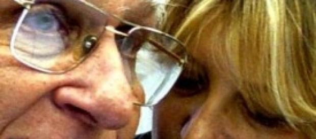 Marco Pannella e Rita Bernadini Radicali italiani